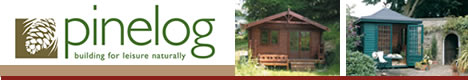 Pinelog - Beautiful summerhouses and log chalets suitable for alfresco dining, home offices, playrooms, gyms.